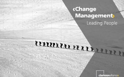 Change Management – leading people