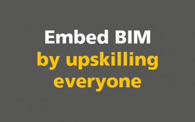 BIM: Embed BIM by upskilling everyone