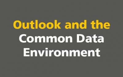 BIM: Outlook and the Common Data Environment