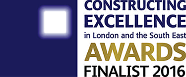 Shortlisted in Outstanding Customer Satisfaction category in Constructing Excellence Awards