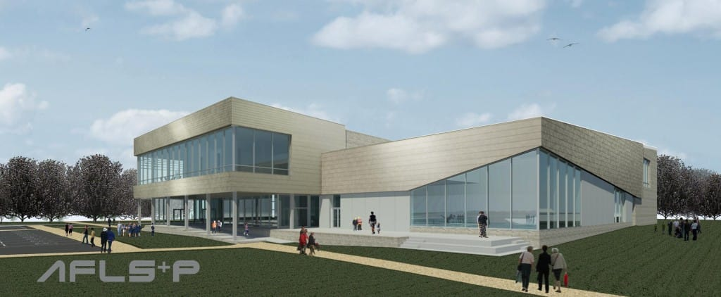 Visuals of the new leisure centre