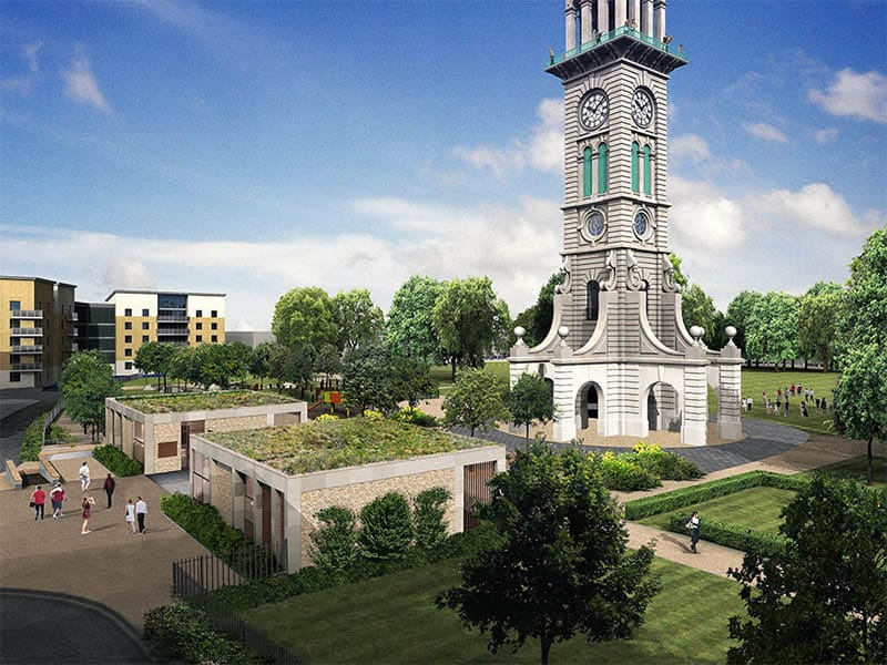 Cally Clock Tower Project shortlisted in Constructing Excellence Awards 2018