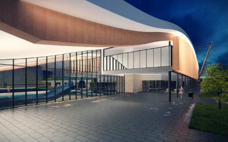 Construction begins at Braywick Leisure Centre