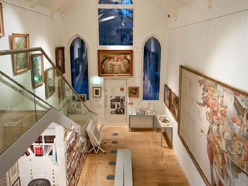 Restoration of Stanley Spencer Gallery