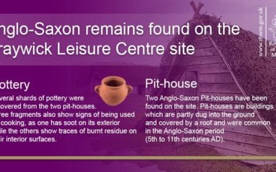 Archaeological finds on site at Braywick Leisure Centre
