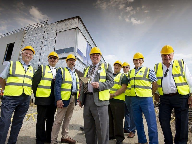 Littlehampton Leisure Centre celebrates major milestone