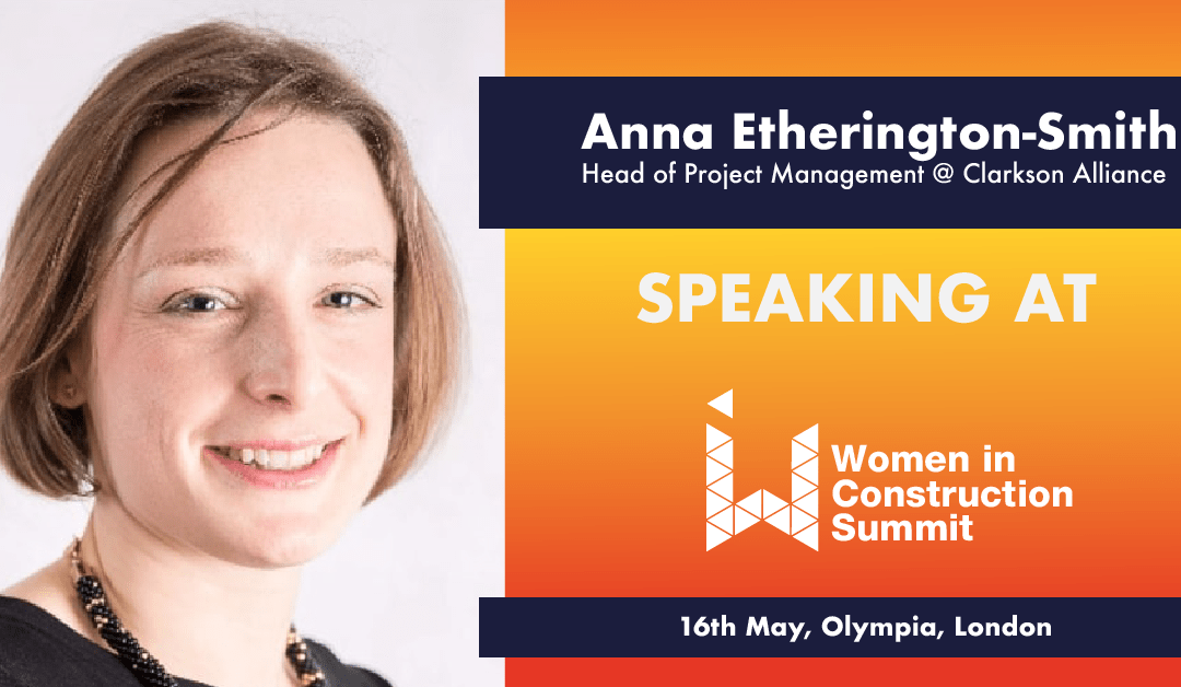 Women in Construction conference 2019: Anna to share her expertise