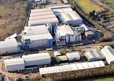 Extensive remodelling and expansion of Muller Wiseman Dairies
